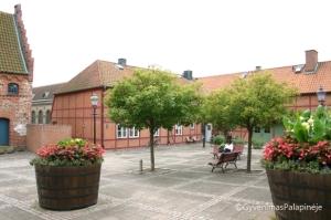 Bažnyčios aikštė Ystad